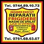 Reparatii Frigidere si Masini de Spalat Focsani Vrancea -